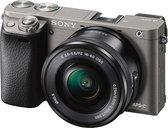 Sony A6000 + E PZ 16-50mm f/3.5-5.6 OSS - Grafietgrijs