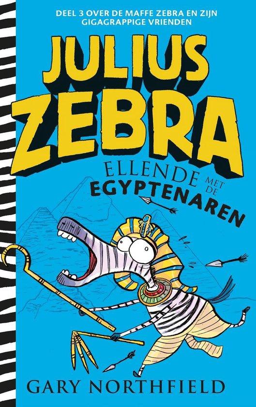 Julius Zebra 3 - Ellende met de Egyptenaren - Gary Northfield |