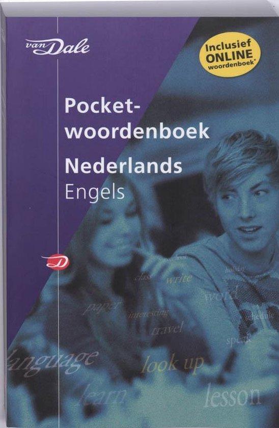 Cover van het boek 'Van Dale Pocketwoordenboek Nederlands-Engels'