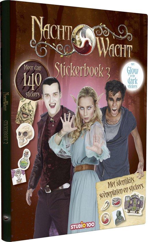 Nachtwacht - Nachtwacht stickerboek 3 - Gert Verhulst  