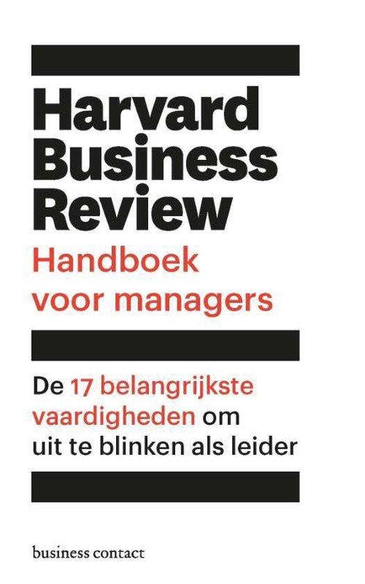 Harvard Business Review handboek voor managers - Harvard Business Review |