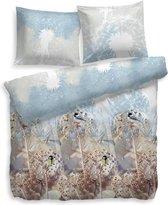 Snoozing Winterflower - Flanel - Dekbedovertrek - Lits-jumeaux - 240x200/220 cm + 2 kussenslopen 60x70 cm - Multi kleur