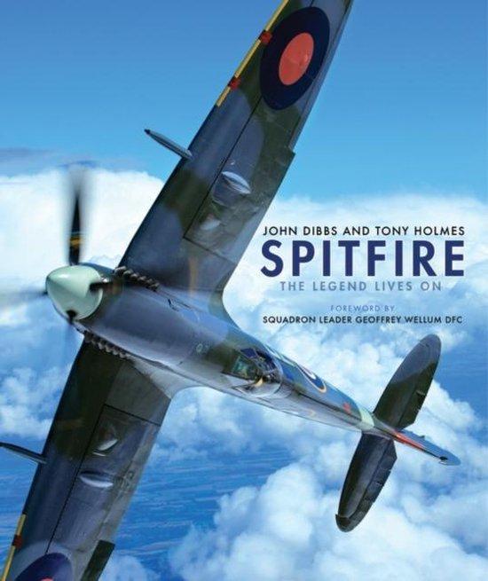 Boek cover Spitfire van Tony Holmes (Hardcover)