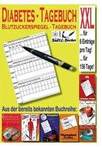 Diabetes Tagebuch - Blutzuckerspiegel Tagebuch XXL