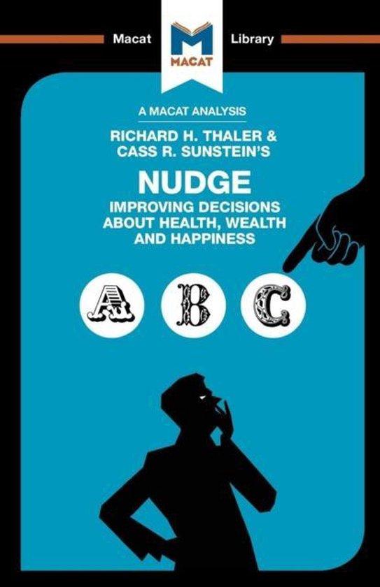 Boek cover An Analysis of Richard H. Thaler and Cass R. Sunsteins Nudge van Mark Egan (Paperback)