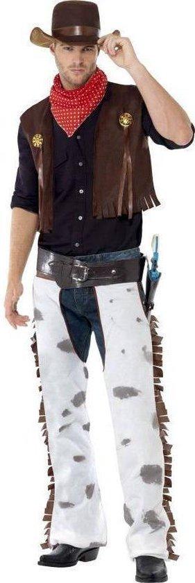Wild West cowboy kostuum | Verkleedkleding heren maat M (48-50)
