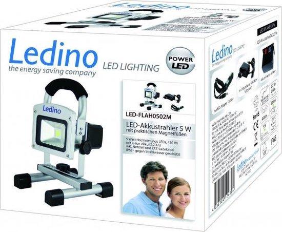 Ledino Bouwlamp - Led-FLAH0502M