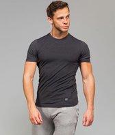 Marrald Black Series Sportshirt | Zwart - M heren fitness crossfit