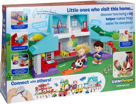 Fisher-Price Little People Handige Helpers Huis - Speelset