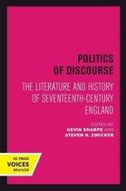 Boek cover Politics of Discourse van