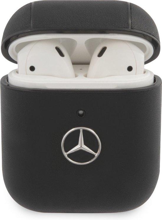Mercedes-Benz AirPods 1 & AirPods 2 Hoesje - Zwart