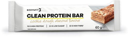 Body & Fit Clean Protein Bars - Proteïne Repen / Eiwitrepen - Amandel & Cookie Dough - 12 stuks
