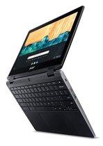 Acer Chromebook Spin 512 R851TN-C4TS Zwart 30,5 cm (12'') 1366 x 912 Pixels Touchscreen Intel® Celeron® 4 GB LPDDR4-SDRAM 32 GB eMMC Wi-Fi 5 (802.11ac) Chrome OS