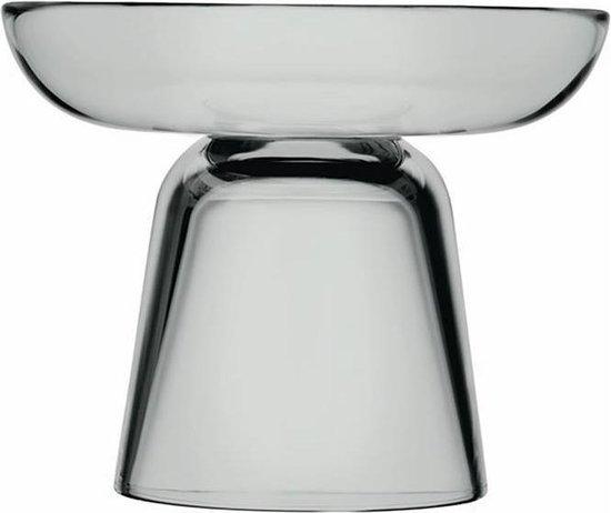 Iittala - Nappula pilaar kaarsenstandaard grijs