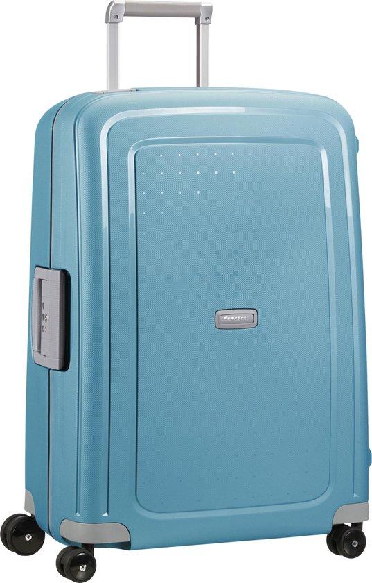 Samsonite Reiskoffer - S'Cure Spinner 69/25 (Medium) Ice Blue -