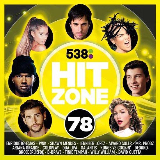 CD cover van 538 Hitzone 78 van Hitzone