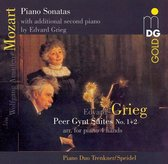 Mozart: Piano Sonatas with additional second piano; Grieg: Peer Gynt Suites Nos. 1 & 2