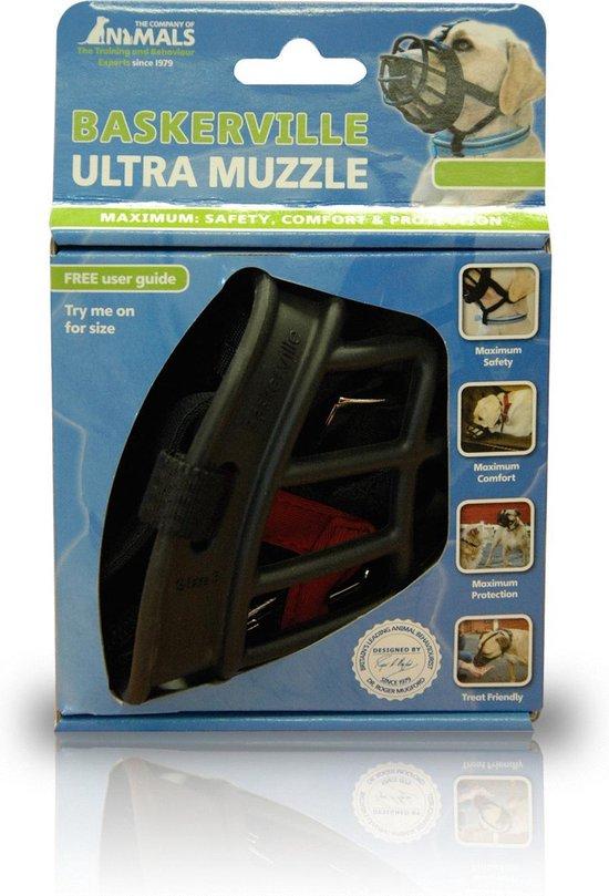 Baskerville - Ultra Muzzle - Muilkorf - Maat 3 - Zwart