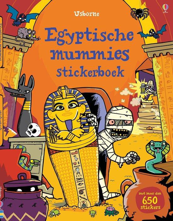 Usborne stickerboeken egyptische mummies - Usborne |