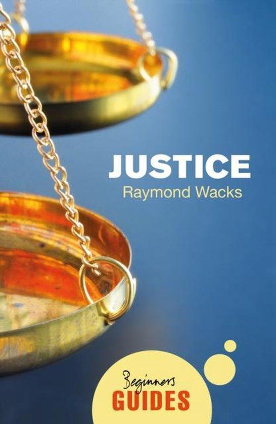 Boek cover Justice van Raymond Wacks (Paperback)