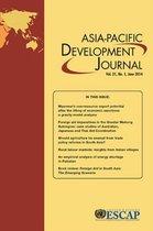 Asia-Pacific Development Journal, June 2014