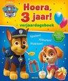 Deltas Paw Patrol Hoera, 3 jaar! Verjaardagsboek – jongens & meisjes – doeboek