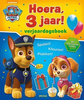 Paw Patrol - Hoera, 3 jaar! verjaardagsboek