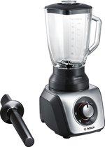 Bosch MMB65G5M - SilentMixx - Blender - Zwart RVS