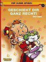 Boek cover Der kleine Spirou 14. Geschieht Dir ganz recht! van Janry