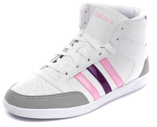 bol.com   Adidas Dames Sneakers Wit/roze/paars Maat 40
