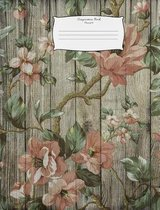 Composition Book Flowers14