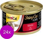 Shinycat Kip - Kattenvoer - 24 x 70 g
