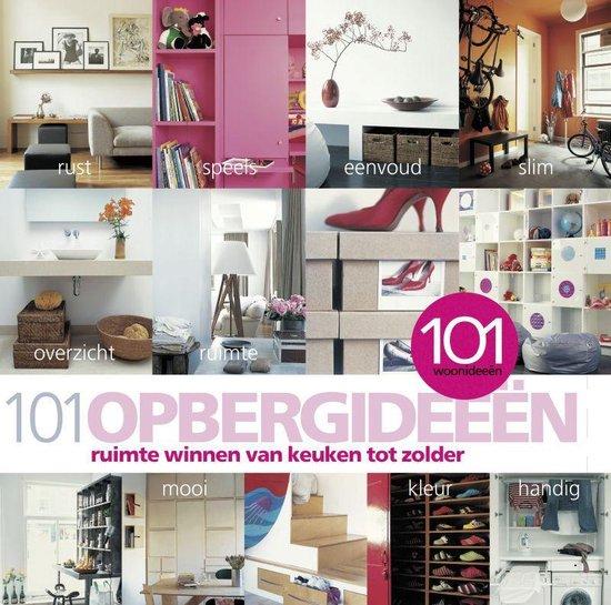 Cover van het boek '101 opbergideeen' van J. Wilson