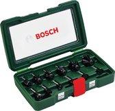 Bosch Houtfrezen 12-delig - 8 mm schacht