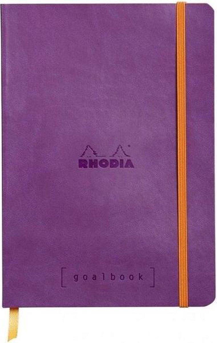 Rhodia Goalbook Bullet Journal A5 Purple