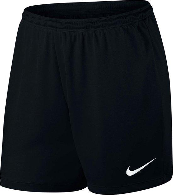 Nike Dry Park II Sportshort Dames - Black/White - Maat S