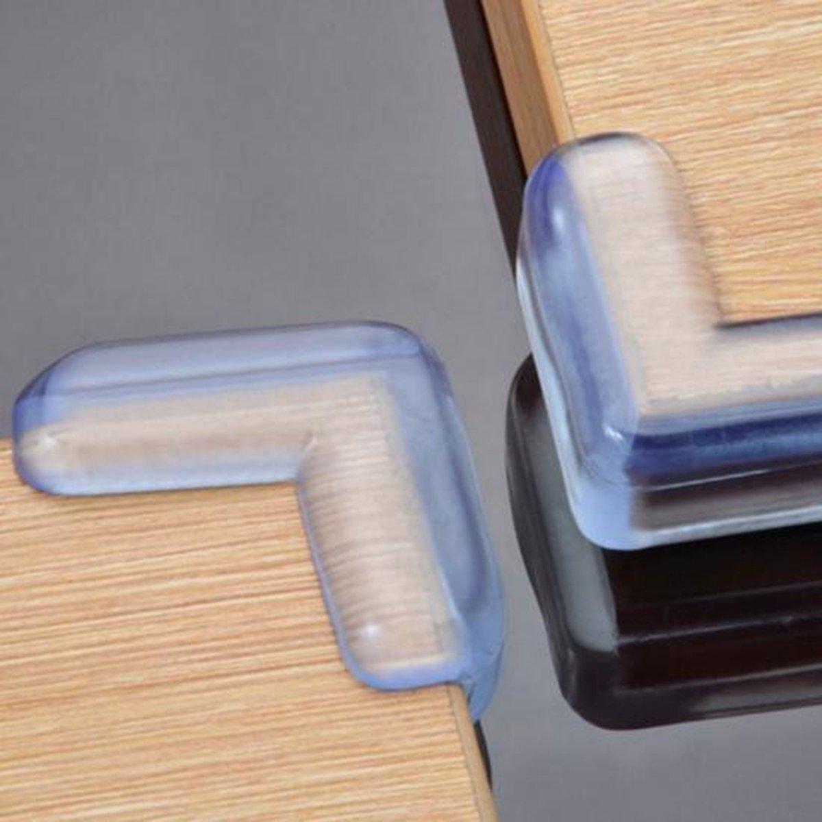 Hoekbeschermers | Transparant | 8 Stuks ( 2 x 4 stuks) | voor Baby of kind | Optimale veiligheid