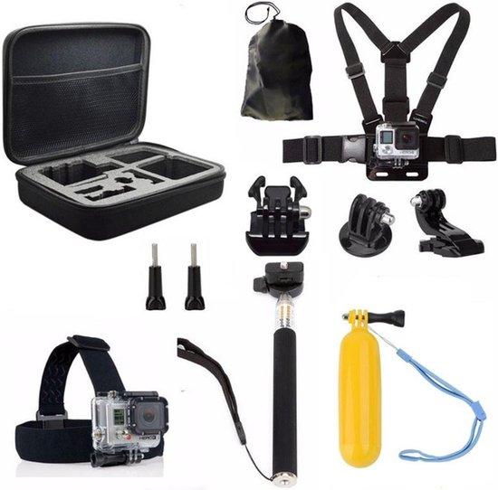 11 in 1 accessoire set geschikt voor GoPro met luxe opbergkoffer