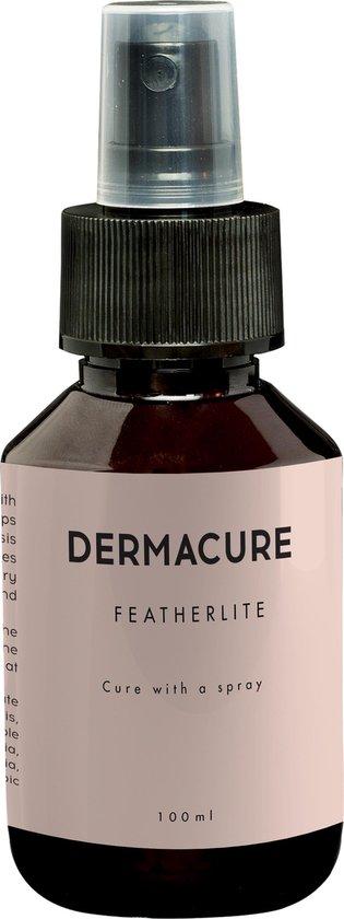 Dermacure - Psoriasis en Eczeem huidspray I Huidvochtinbrengende crème voor de droge en gevoelige huid 100 ml | Jeukende en schilferige huidverzorging I Biologische huidverzorging