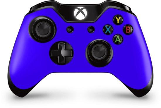 Xbox One Controller Skin Blauw Sticker