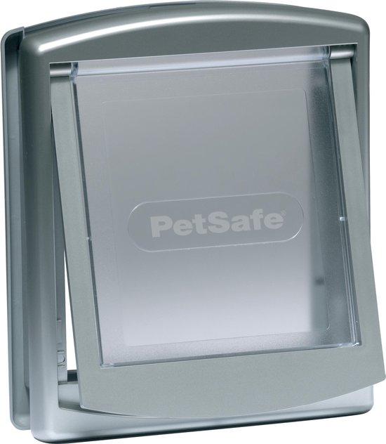 Petsafe 737 Kattenluik - Zilver/Transparant - 23,6 x 19,8 cm