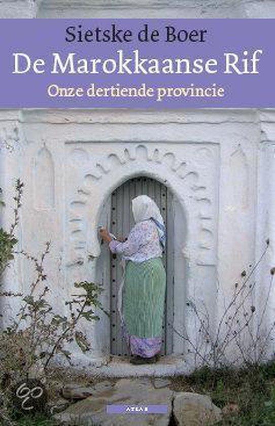 Cover van het boek 'De Marokkaanse Rif' van Sietske de Boer
