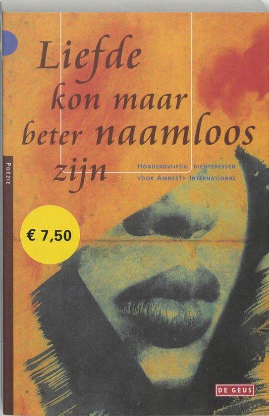 Liefde kon maar beter naamloos zijn - W. Szymborska |