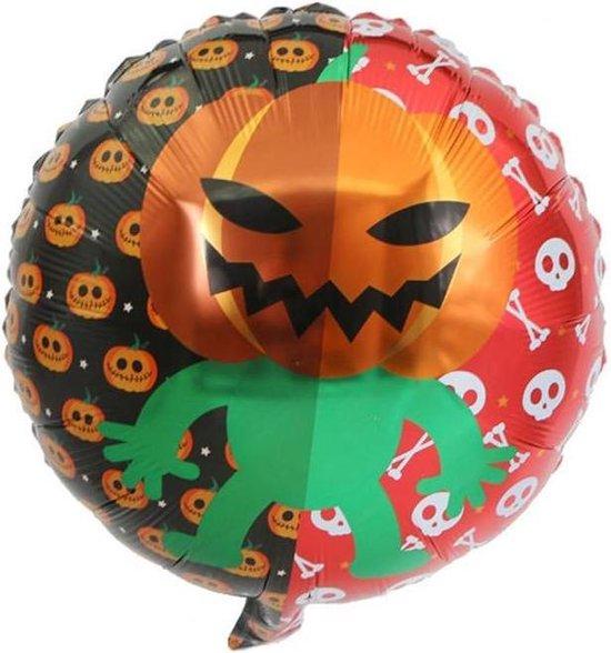 Folieballon Pumpkinman 45x45