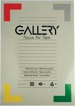 Gallery millimeterpapier formaat 297 x 42 cm (A3) blok van 50 vel