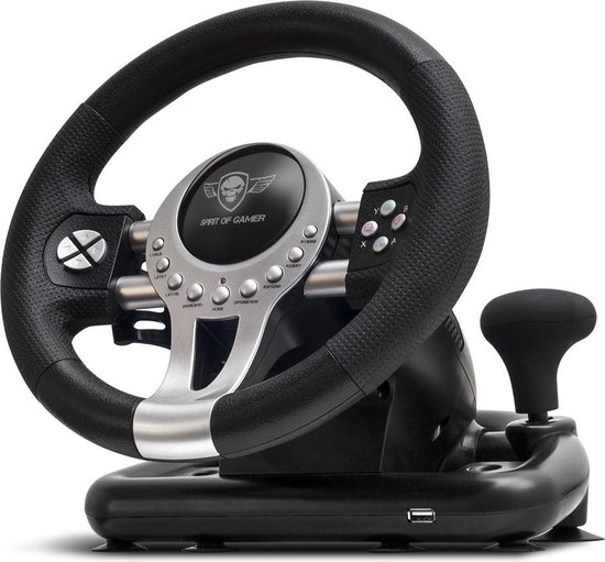 Afbeelding van Spirit of Gamer - Pro 2 Race Stuur - PS4 - Xbox One - PS3 - PC