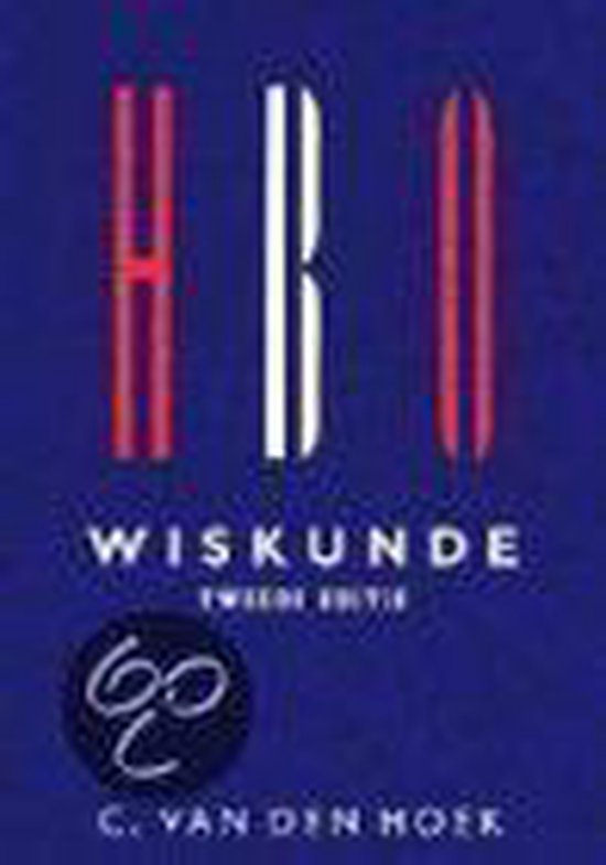 Cover van het boek 'HBO wiskunde / druk 2' van C. van den Hoek