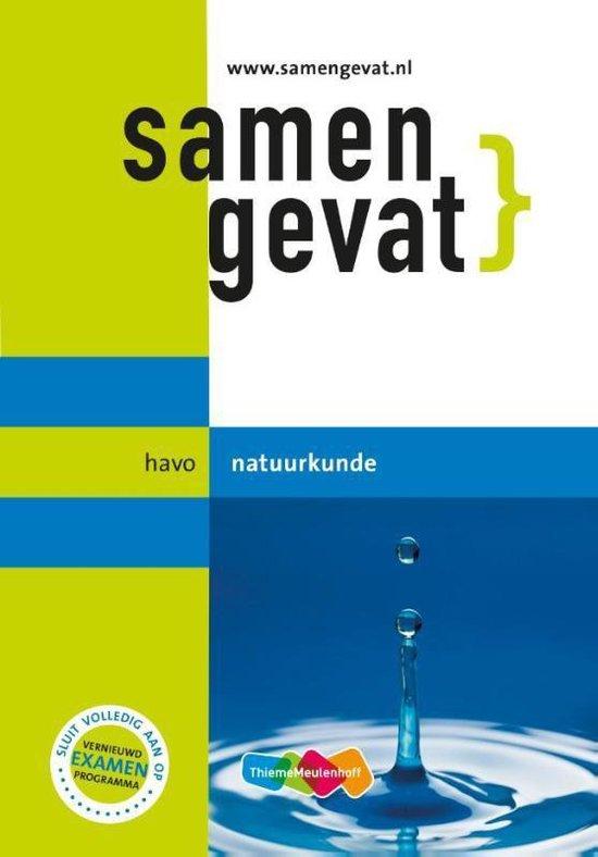 Boek cover Samengevat - Natuurkunde Havo van A.P.J. Thijssen (Paperback)