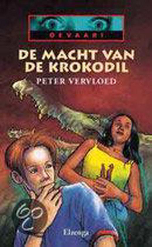 Cover van het boek 'De macht van de krokodil' van Peter Vervloed