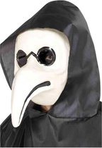 Smiffys Masker Authentic Plague Doctor Wit